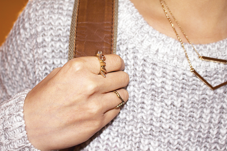 A cool casual outfit to go exploring in featuring Forever21 and UrbanOutfitters gold jewelry