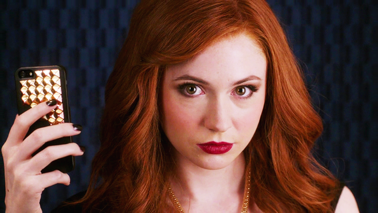 "Saying farewell to ABC's canceled ""Selfie"" with Karen Gillan"