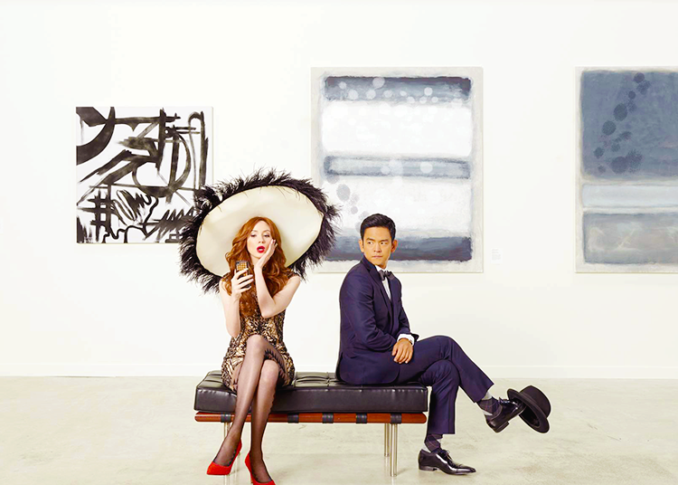 "Saying farewell to ABC's canceled ""Selfie"" with Karen Gillan and John Cho"
