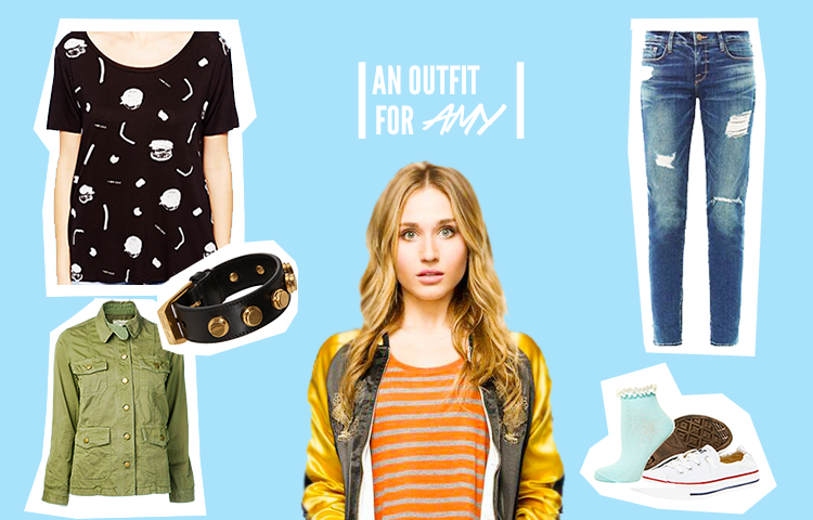 """Fashion and music choices inspired by Karma and Amy's fun relationship on MTV's """"Faking It"""""""