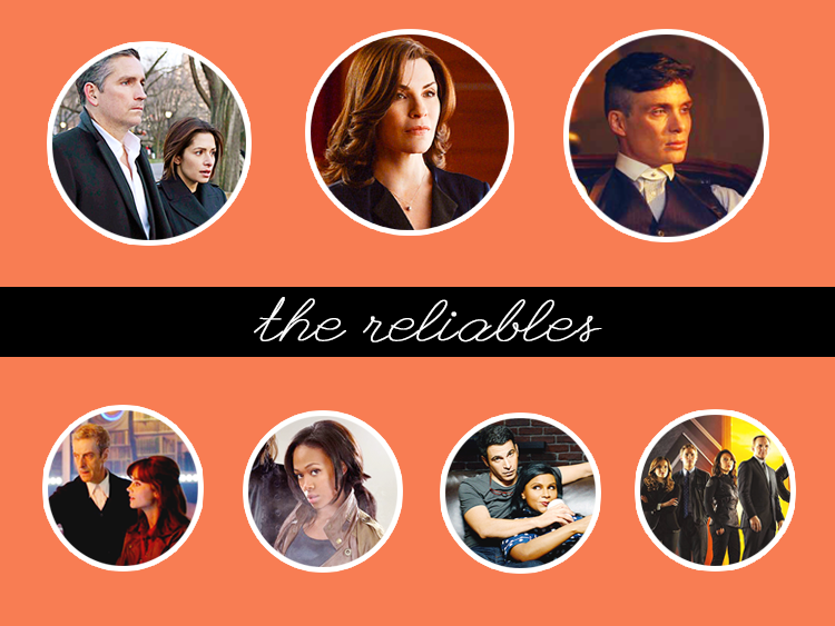 Fall 2014 TV Lineup - The Reliables: Fall TV Shows I'm still watching