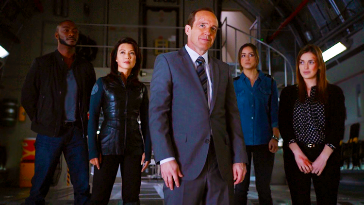 Weekly Review of ABC's Agents of SHIELD featuring Agents Tripp, May, Coulson, Skye and Simmons