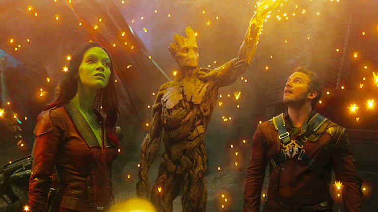MARVEL's Guardians of the Galaxy, Gamora & Groot & Peter Quill