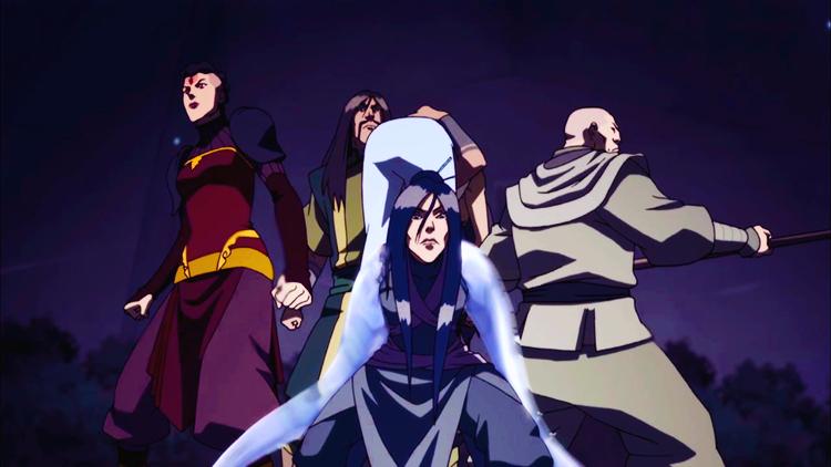Legend of Korra, Season 3 - Zaheer and the Red Lotus