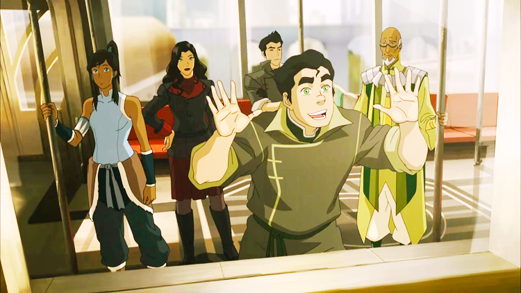 Legend of Korra, Season 3 - Team Avatar