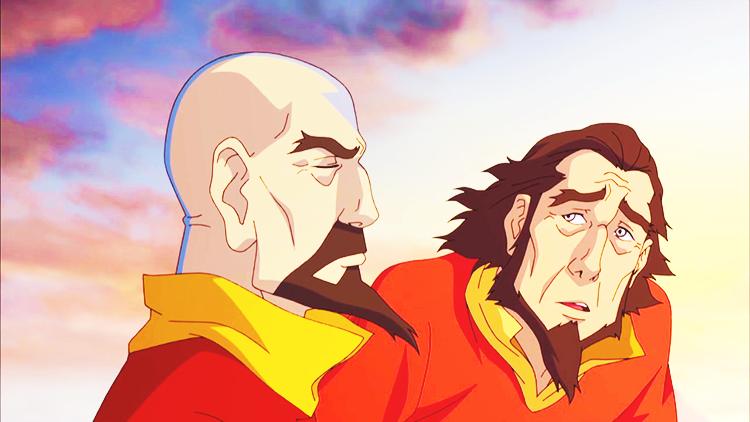 Legend of Korra, Season 3 - Tenzin and Bumi