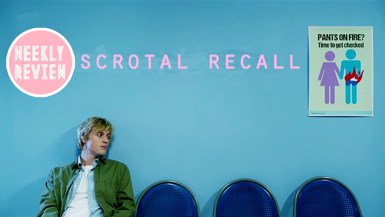 Weekly Review featuring E4's sitcom, Scrotal Recall