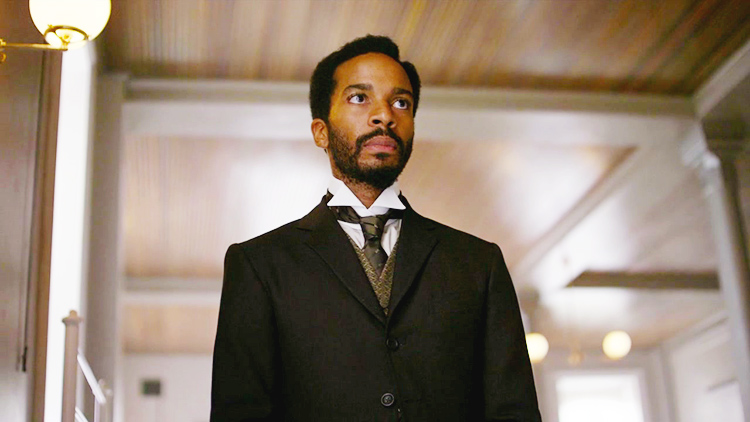 "Weekly Review featuring ""The Knick"", a compelling period drama from Cinemax - Andre Holland as Algernon Edwards"