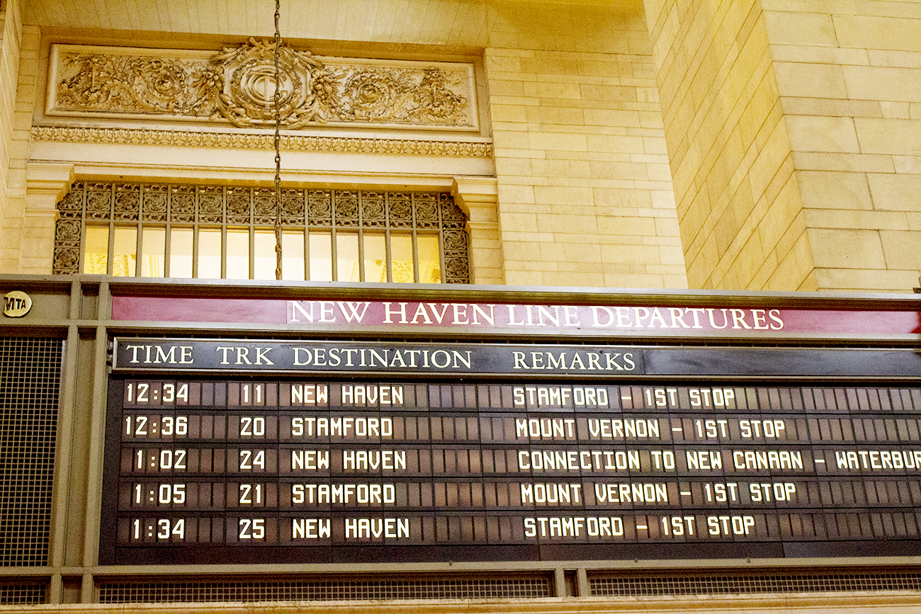 A trip into New York City's Grand Central Station