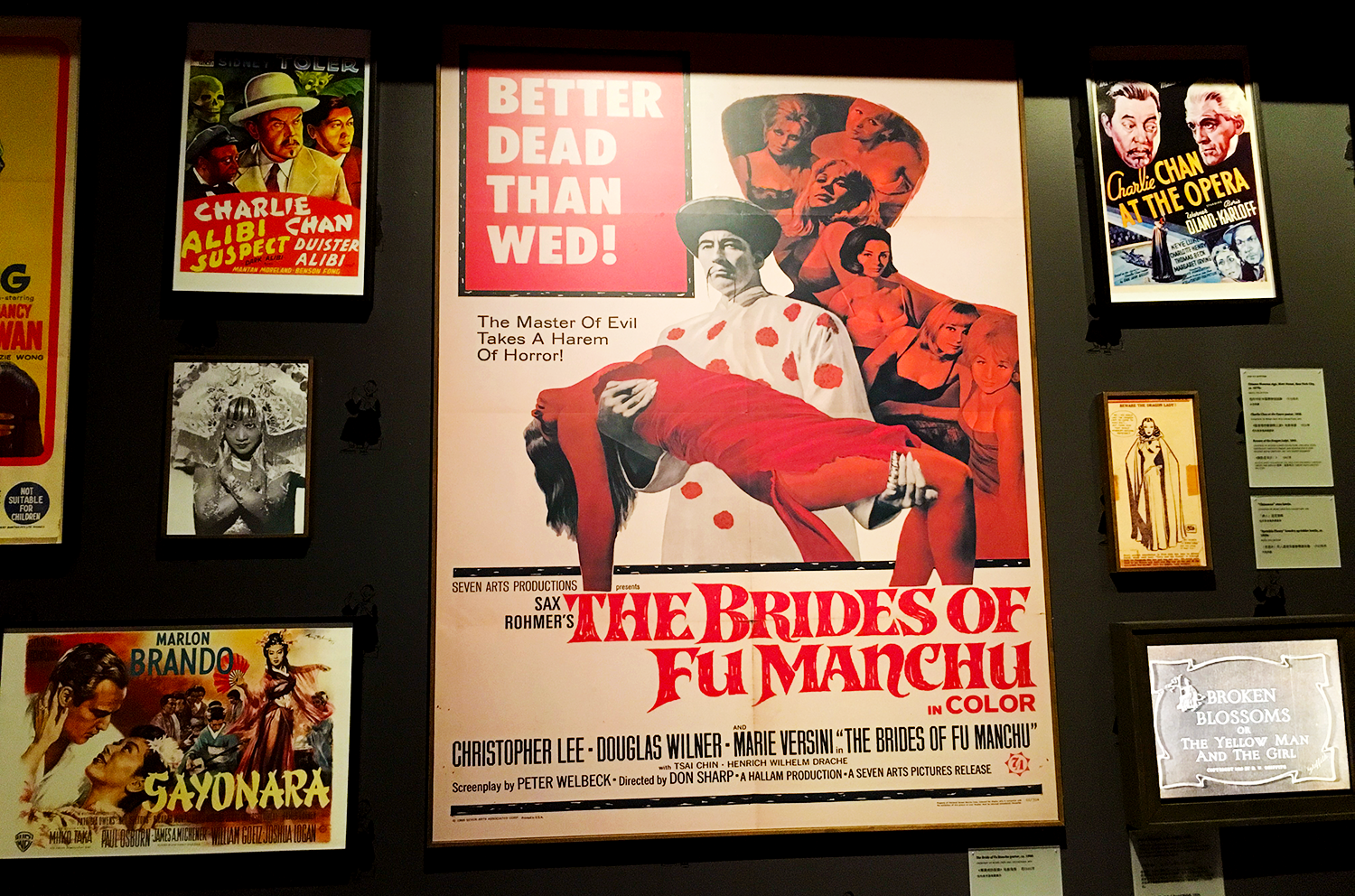 Museum of Chinese in America, Chinatown - NYC - Orientalism and Yellowface in Hollywood