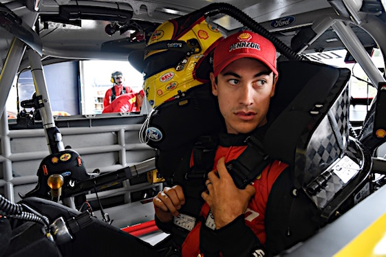 Will Joey Logano end up paying a price for his last lap antics at Martinsville? (RacinToday/HHP file photo by David Tulis)