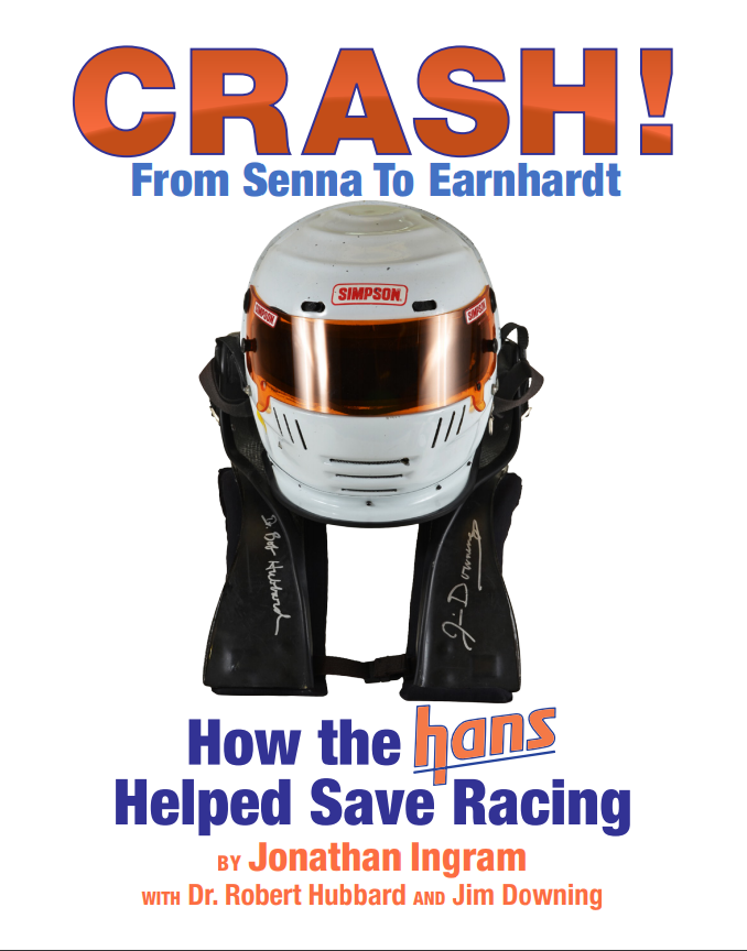 CRASH! From Senna to Earnhardt – How the HANS Helped Save Racing Cover.PNG