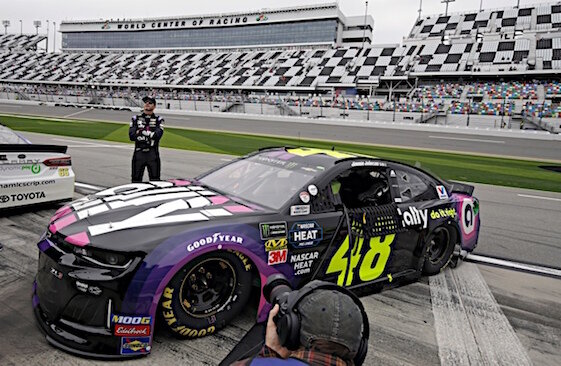 Jimmie Johnson is riding an 87-race winless streak as the NASCAR Playoffs hit high gear.