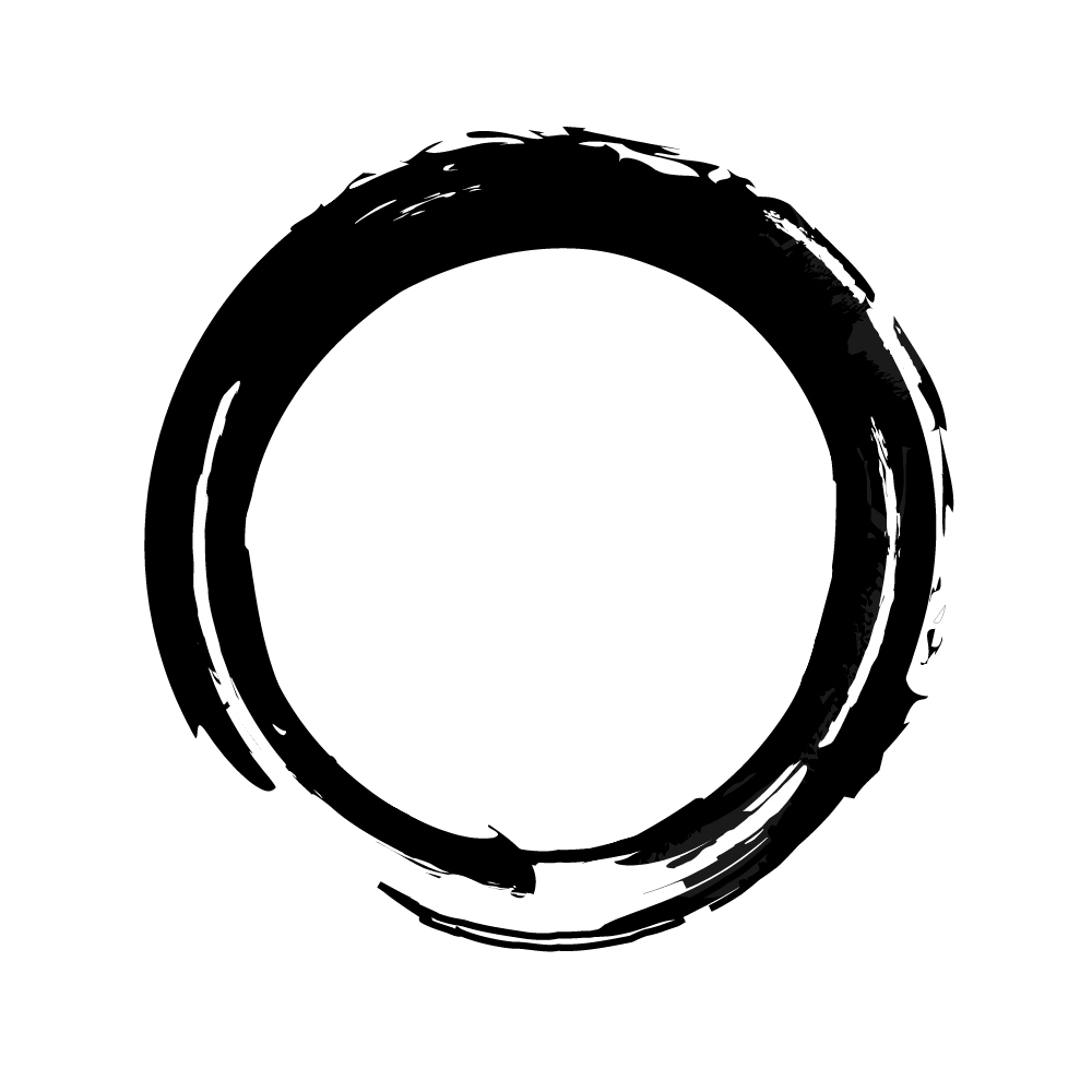 Draw Breath takes it's inspiration from the Zen Enso circle; drawn in time with a natural exhalation during a meditative state.