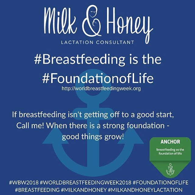 #wbw2018 #worldbreastfeedingweek2018 #waba #foundationoflife #milkandhoney #milkandhoneylactation