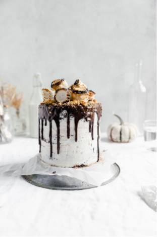 Try this s'mores cake from  Broma Bakery