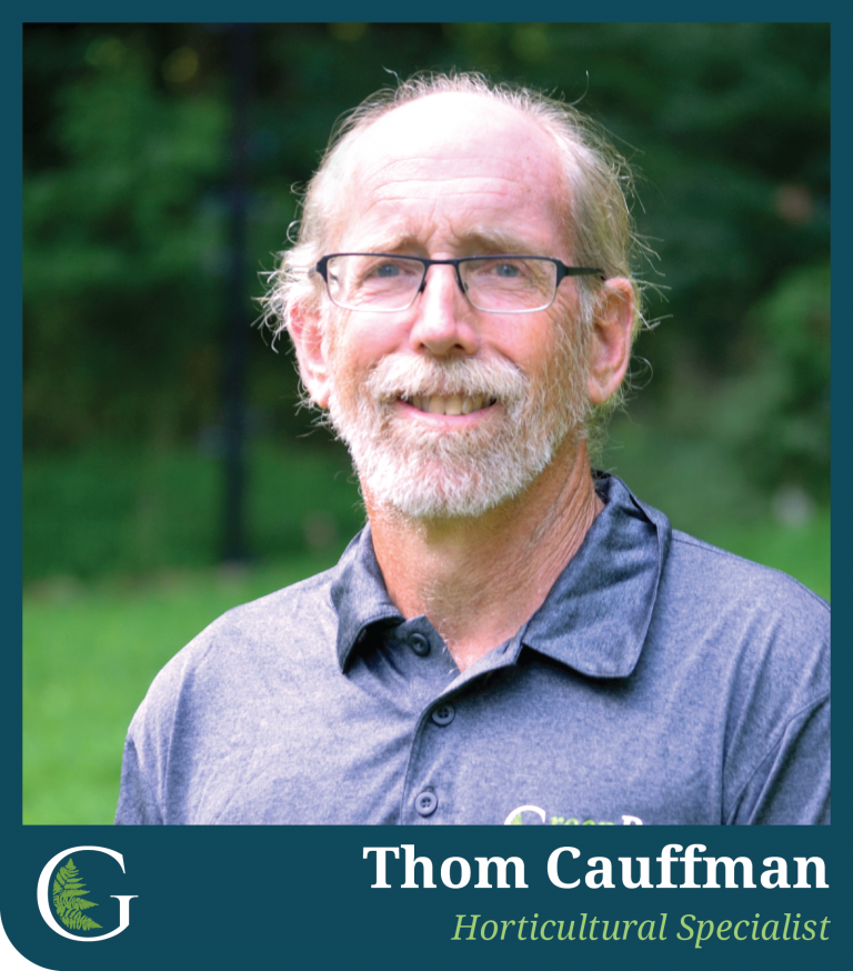 A veteran landscaper skilled in all things related to plants, Thom brings a wealth of knowledge that make each project distinct and inviting. He's likely to be seen returning to the office covered in dirt from giving himself to his work.