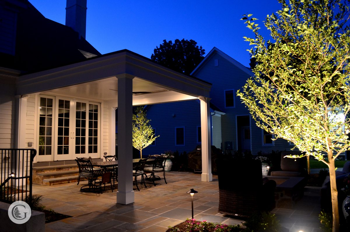 An outdoor living space can turn your backyard into a retreat. -