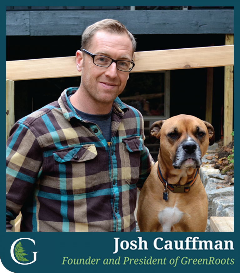 As the founder of GreenRoots, Josh has always brought great vision and direction to his projects through the years. It's his passion to craft unique designs and custom spaces that clients can enjoy for years to come.