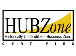 HUBZone certified business -