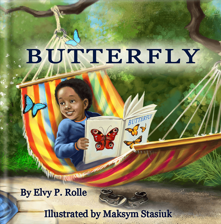 Butterfly by Elvy P. Rolle