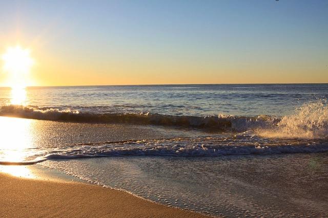 sunrise on florida beach