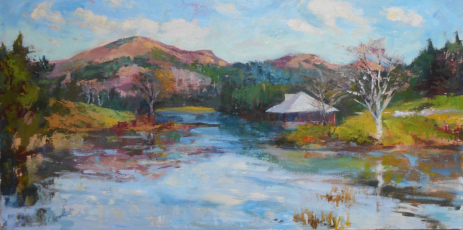 Little Long Pond  by Valerie Aponik