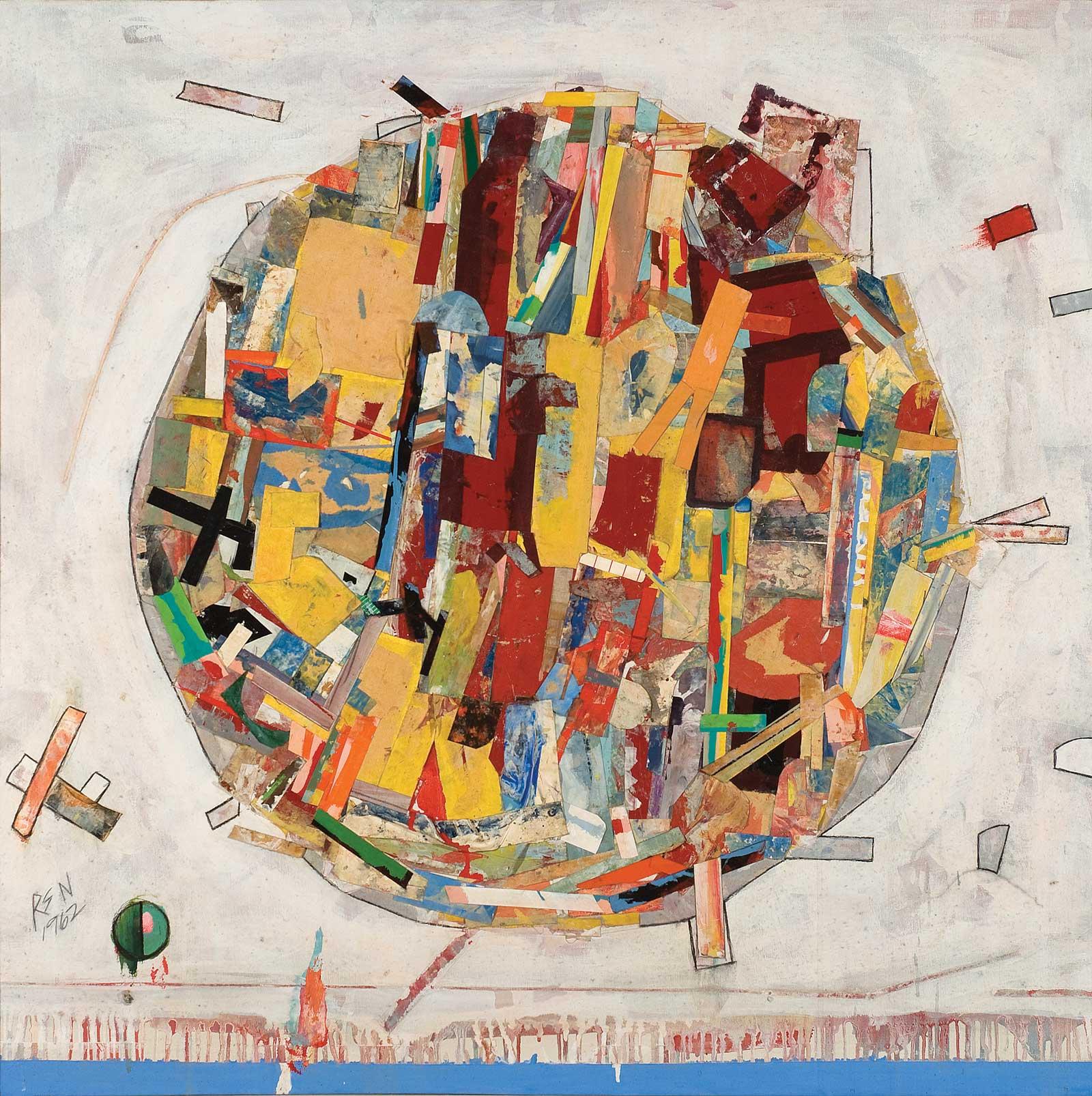 Pedazos del Mundo #19  by Robert S. Neuman