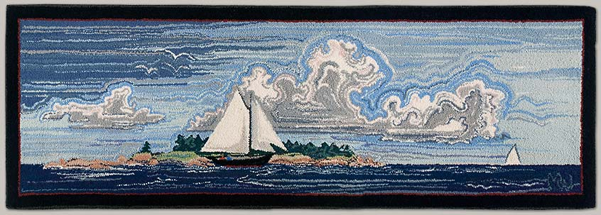 """Sailing , 108"""" x 24"""""""