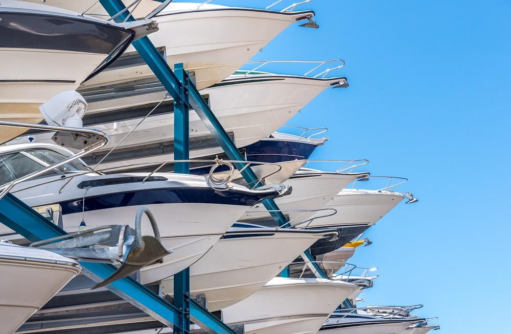 Marine Insurance House - Boat dry stack facility insurance
