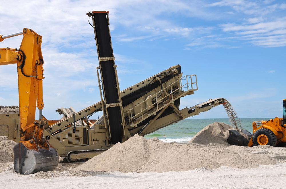 Beach restoration contractor insurance.