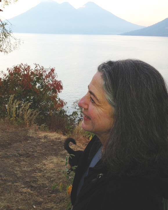 """Lisa Weinberg - """"I've had the good fortune to journey with Sophia in San Pedro la Laguna on Lake Atitlan on two occasions. Her spirited engagement with this magical place and its people enriched my own experience, facilitating added insight and inspiration."""""""