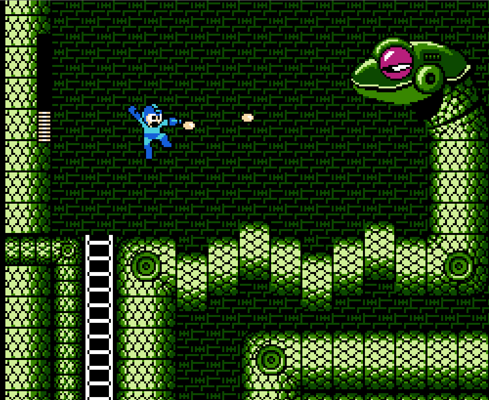 Mega Man 3 - Snake Man Stage