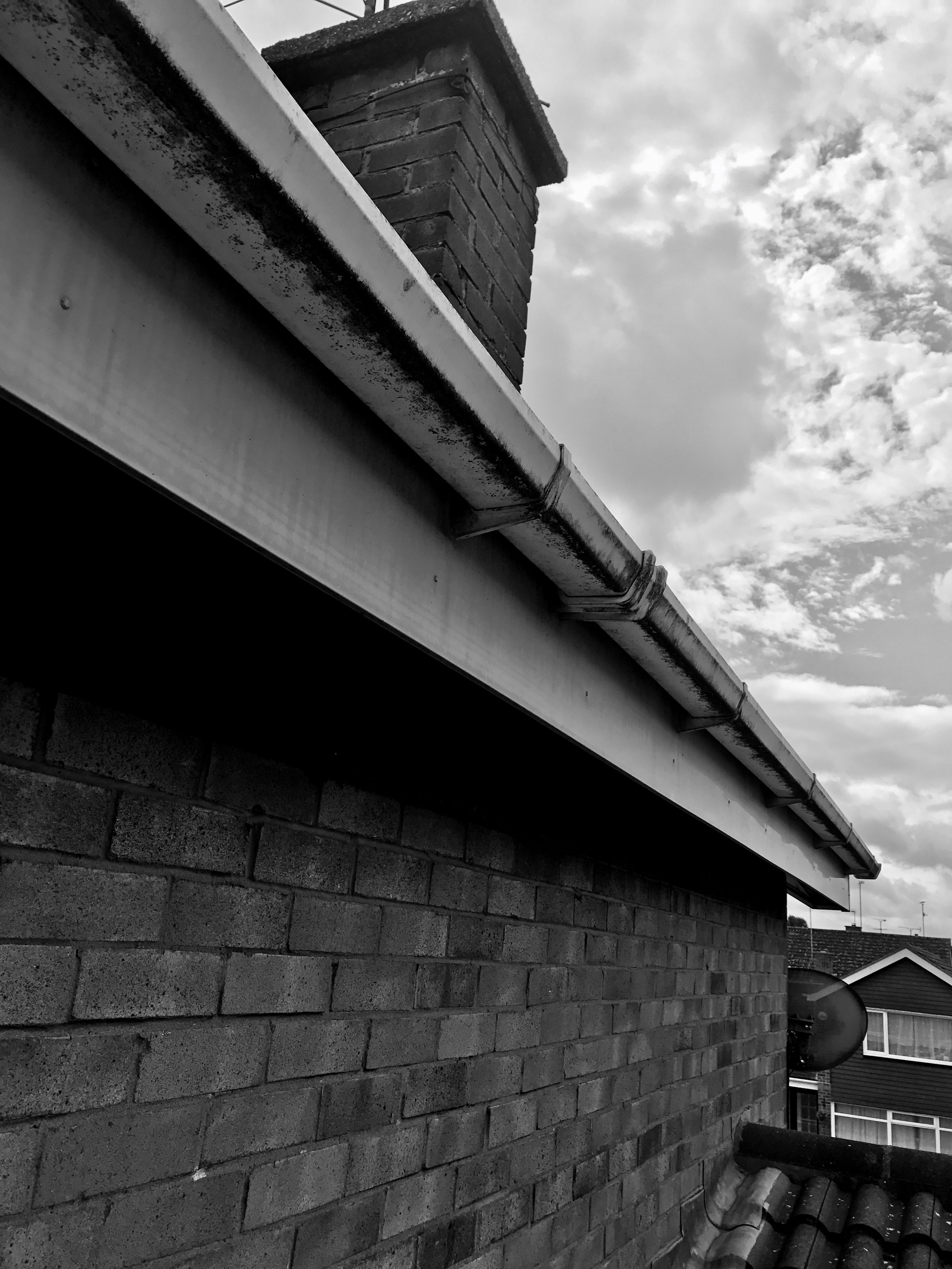 FSG cleaning - Have you had a build up of dirt on your gutters and fascias? Do they look faded, or green with dirt? Using eco friendly chemicals we can restore your fascias and soffits to their former glory, almost always looking as good as new!