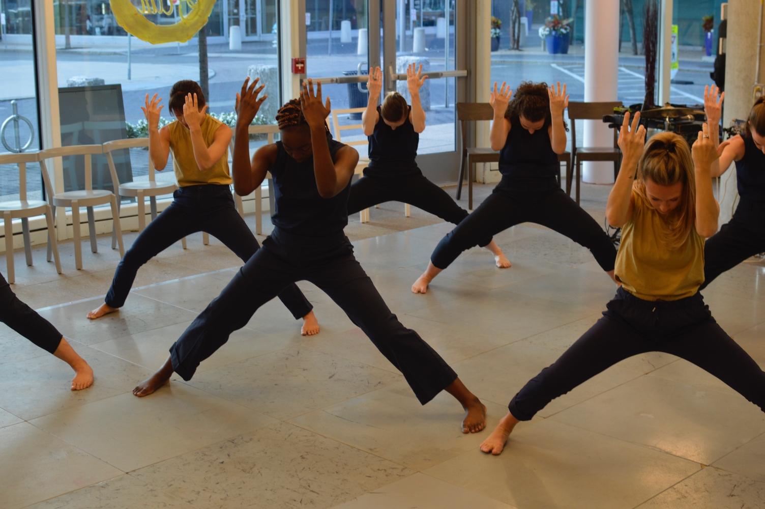 VLA DANCE residency at the K2 Community Space