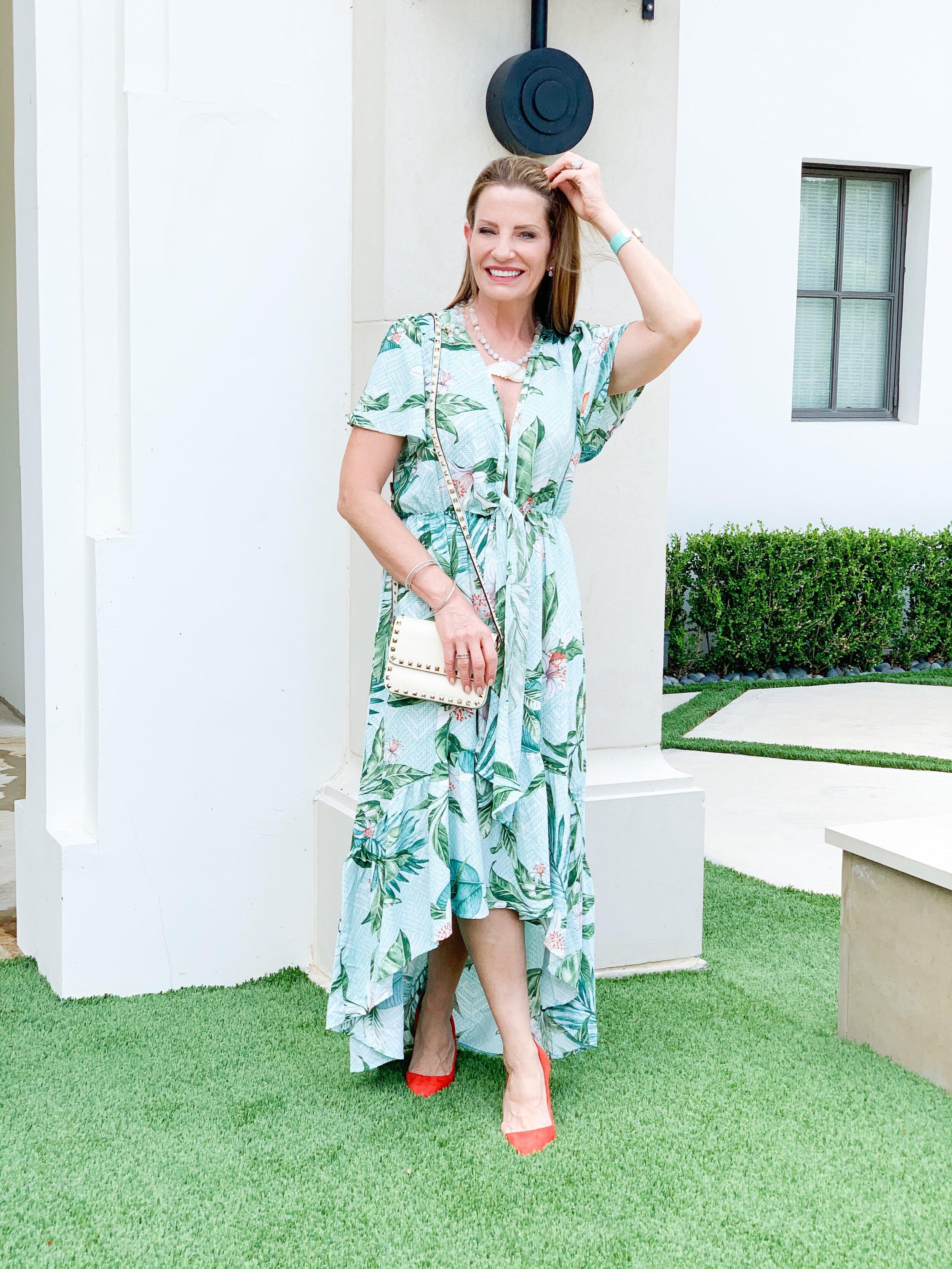 Lillian Tropic Dress
