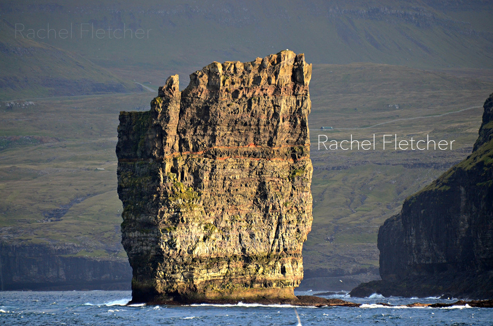 The Faroe Islands, sea stack