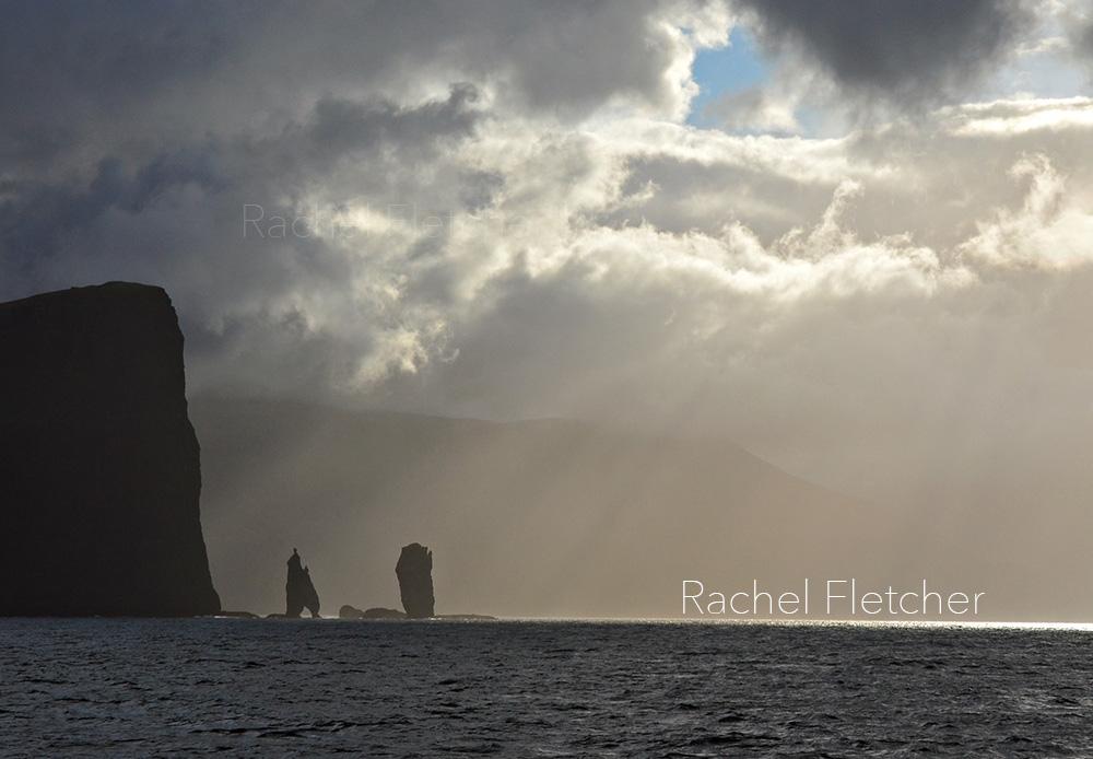 The Faroe Island. Sea stacks. Rachel Fletcher