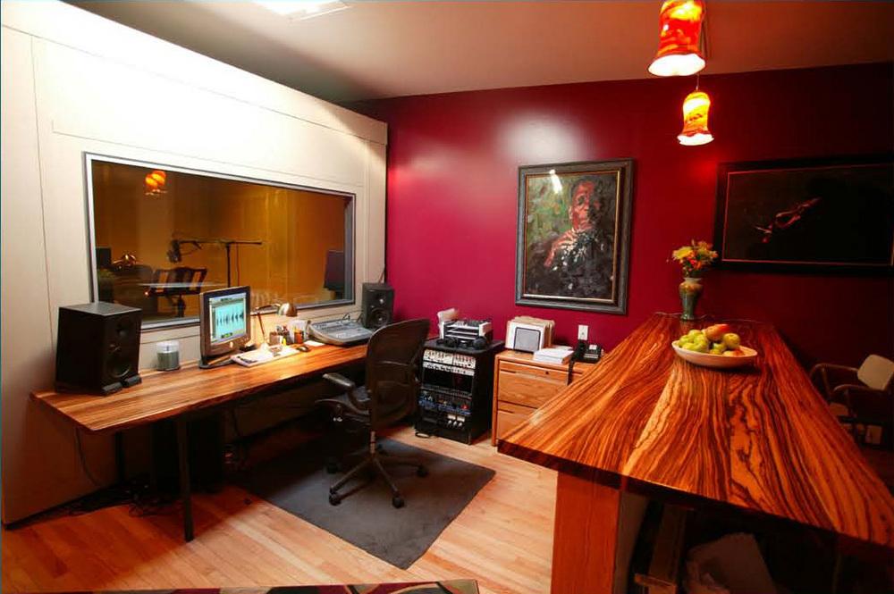 One of Blackstone's audio recording facilities