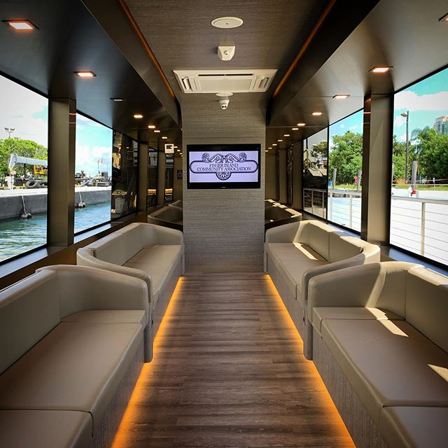 Radyca's design intervention gave this utility vessel, the Fisher Island Ferry, a Superyacht look & feel. With accent lighting picking out the fine details and using the right materials, we created a luxurious environment to welcome and transport residents and guests.⠀ .⠀ . ⠀ #ramonalonsodesign #radyca #radycadesign #arquitecture #design #interiordesign  #decoration #decor #designconcept  #lifestyle #superyachts #yacht #luxury #superyacht  #architecture #onlyforluxury #UHNWI #megayacht  #luxurylifestyle #fisherisland ⠀⠀ Design: Radyca Design⠀ Photo: @ramonalonsooc