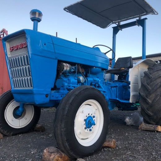 Tractor after