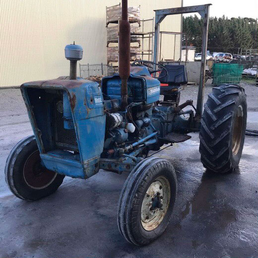 Tractor before