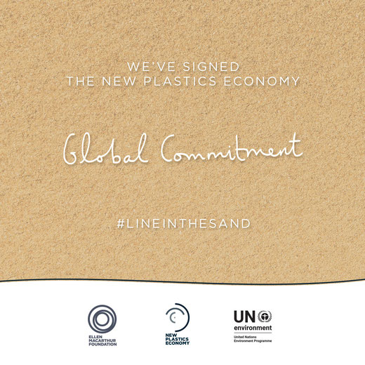 Global Commitment with the Ellen MacArthur Foundation