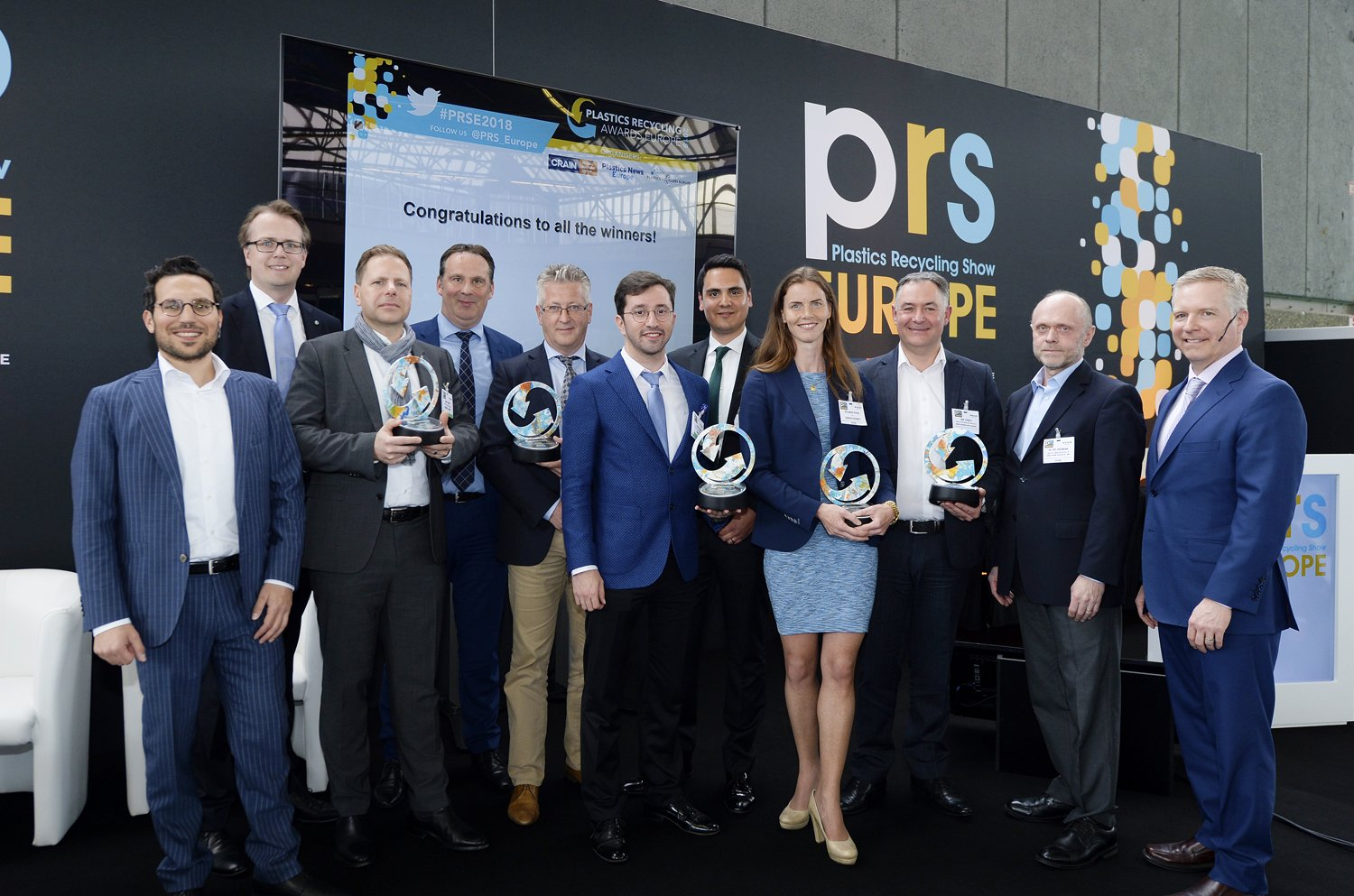Willemijn Peeters, Director Searious Business, wins Plastic Recycling Europe Award 2018