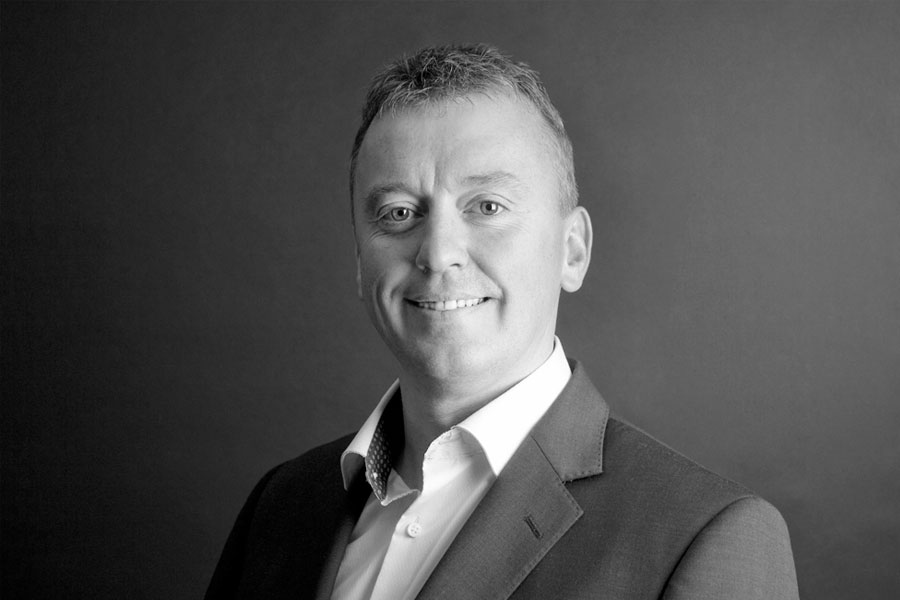 Portrait of Mark Bryant, Head of Business Development for Clyde Biosciences