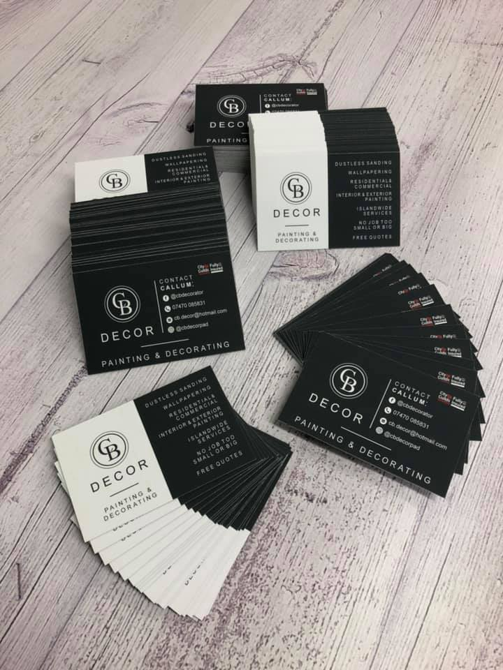 Smart-looking business cards