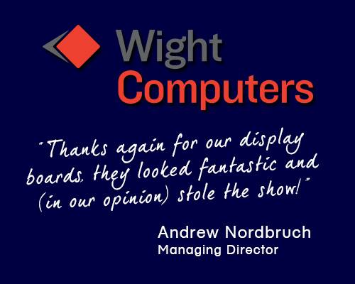 Wight Computers display boards
