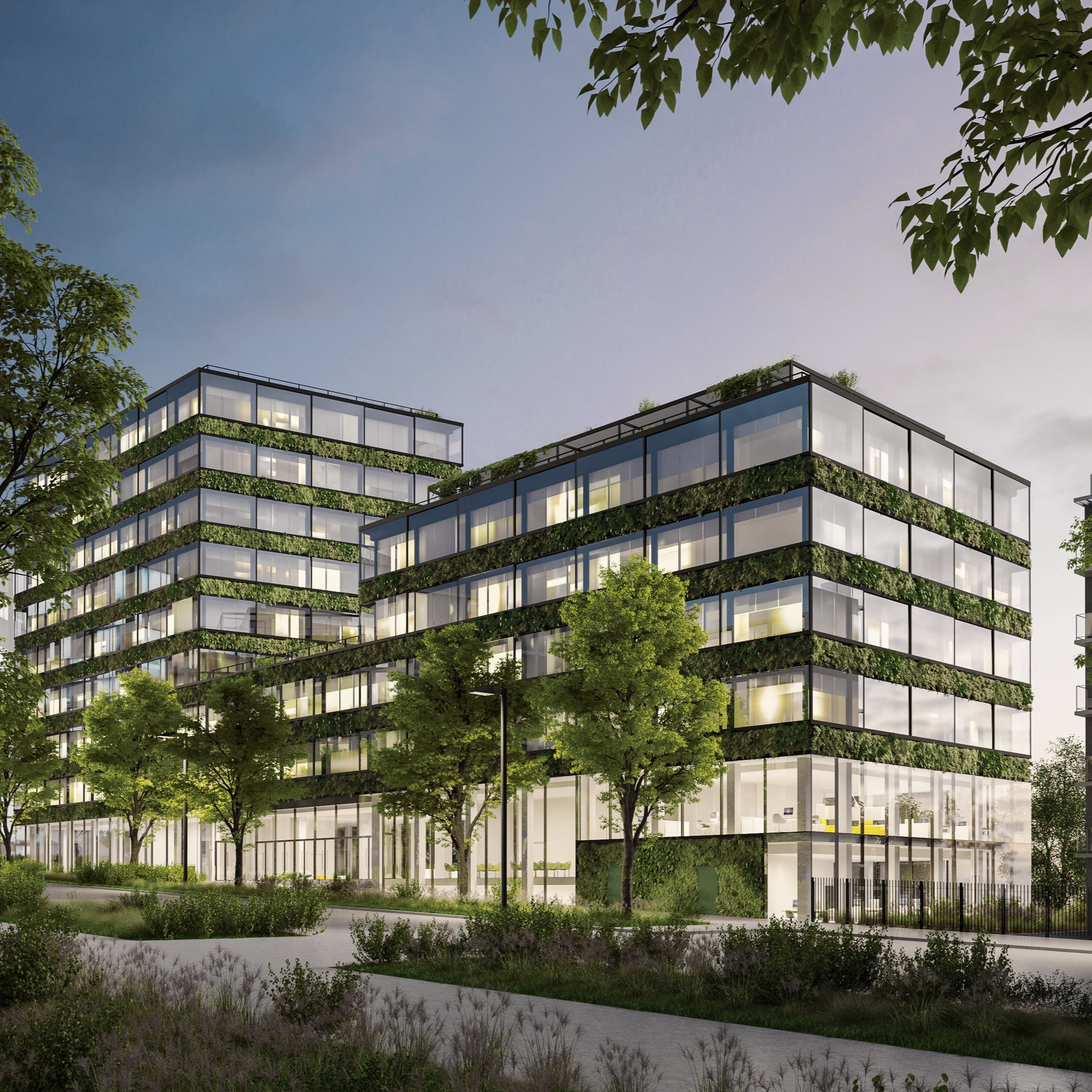 Le Cercle - Immeuble de bureau innovant - - PARIS 13 -Livraison 2020