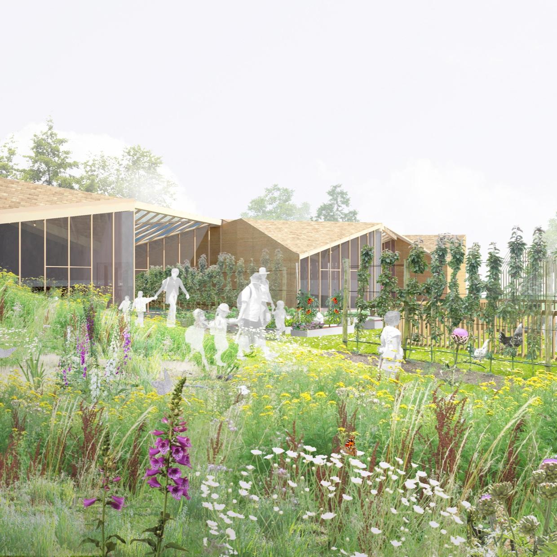 Centre multi-accueil de Loisirs et Jardin Pédagogique - ENNERY - 2012