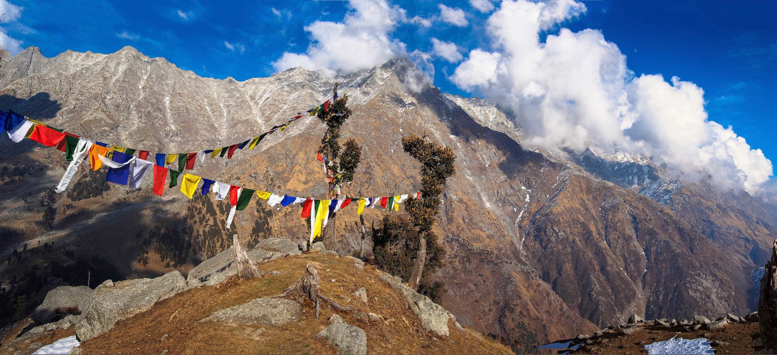 Dharamsala,NORTH of INDIA - the himalaya escape: yoga & adventure